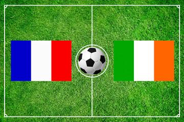 Frankreich gegen Irland