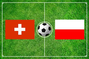Schweiz gegen Polen