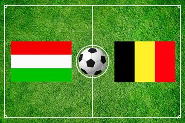 Ungarn gegen Belgien
