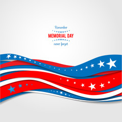 Patriotic holiday background