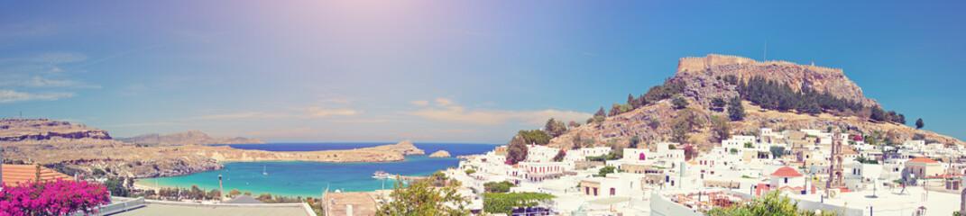 Lindos Bay, Greece