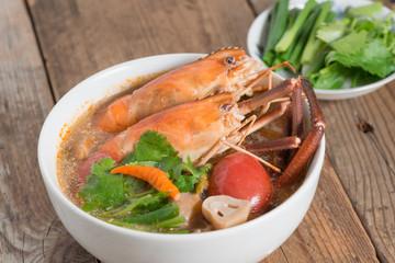 Tom Yum Goong,Thai Cuisine.