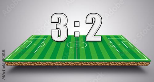 Fussball Spielstand
