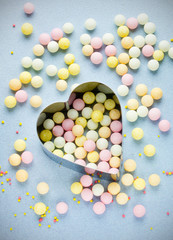 Love background sweet sugar colorful candy