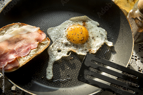 Guiltless Egg And Bacon Sandwich - 4 Pts Recipes — Dishmaps