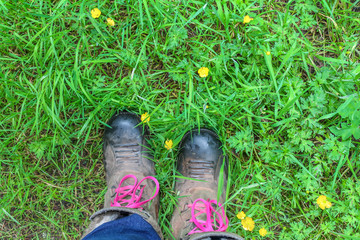muddy boots and buttercups