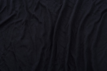 Black fabric textue