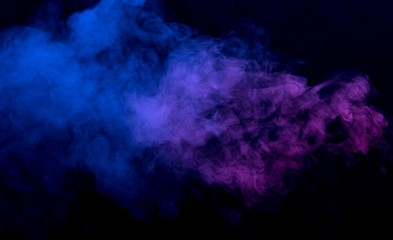 Photo sur Plexiglas Fumee Abstract smoke background