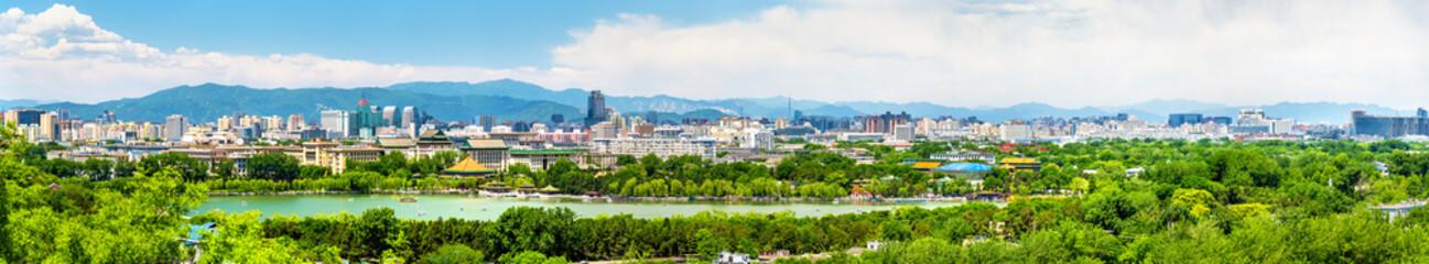 Foto op Plexiglas Beijing City view of Beijing from Jingshan park