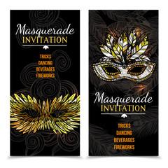 Masquerade Carnival Banners