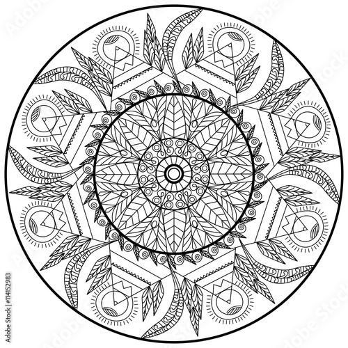 sacred mandala coloring pages - photo#49