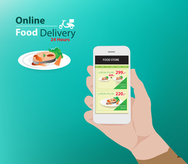 online food delivery advertisement