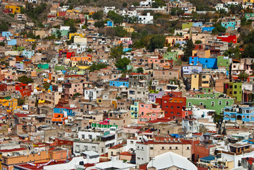 Guanajuato a town of many colors