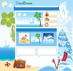 Tourism template