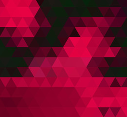 Vector Abstract geometric background with triangles