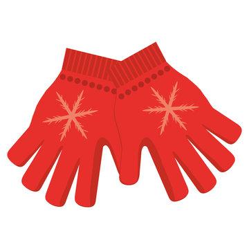 winter gloves icon