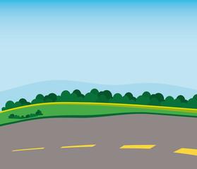 street icon. Landscape design. vector graphic