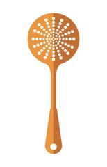 spoon icon. Cutlery and menu. vector graphic