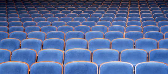 Blue Seats in Theater