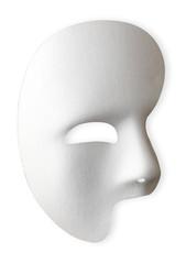 白い仮面/クリッピングパス付き