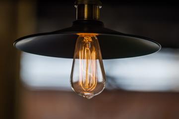 Edison retro light bulb