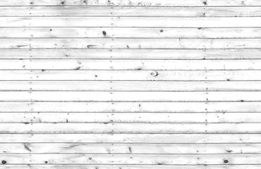 White wooden wall, seamless texture