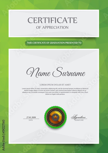 Nra Certificate Template