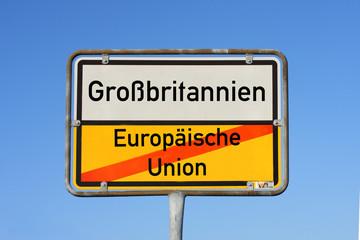 Brexit Großbritanien Eurpoa