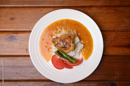 "Chicken Stew with Rice, Okra and Tomatoes"" Imagens e fotos de stock ..."