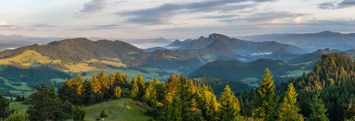 Landscape in Pieniny