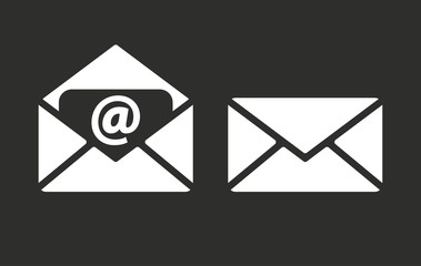 Mail - vector icon.