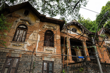 Abandoned and Ruined House in Santa Teresa Neighborhood in Rio de Janeiro