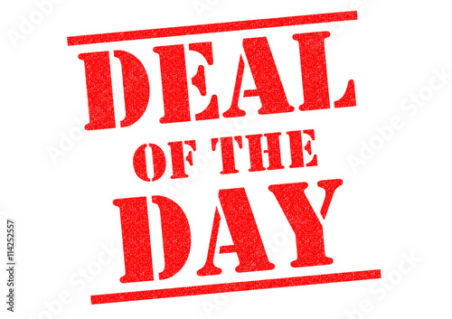Deal of the day quot stock photo and royalty free images on fotolia com
