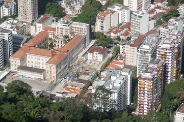 Aerial View of Buildings in Rio de Janeiro
