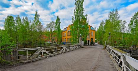 Nokia river industrial area