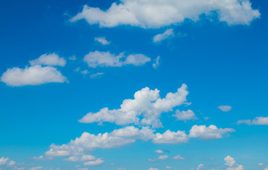 cloudy  with sun shines blue sky