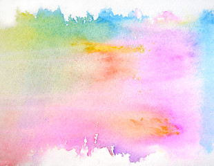 Beautiful abstract watercolor background for your design