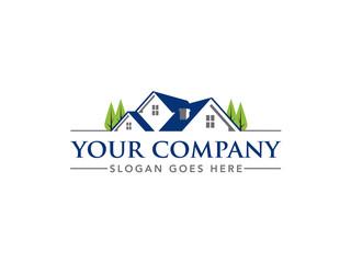 Real Estate Brokerage Logo Template