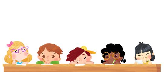 Buscar fotos dibujando - Ninos en clase dibujo ...