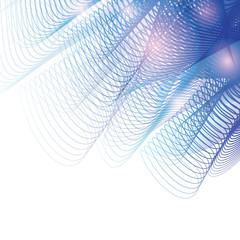 Blend-blue-grid