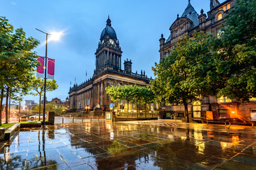 Leeds Town Hall, Leeds West Yorkshire,England