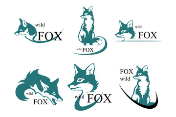 set of  Fox logo