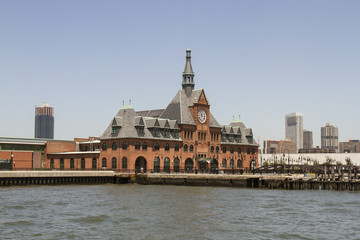 Historic Central Railroad and ferry Station, Jersey City, New Je
