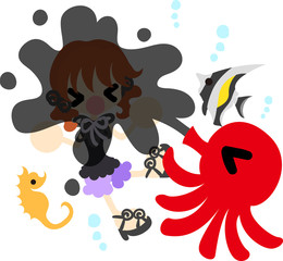 Summer memories and an octopus