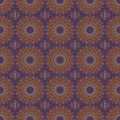 Seamless Pattern. Abstract Ornament