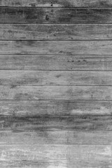 Wooden wall black & white background