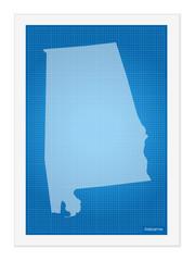 Alabama on blueprint