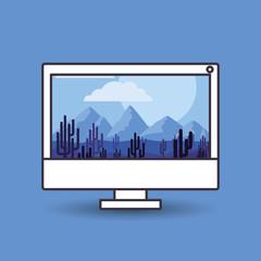 landscape wallpaper design
