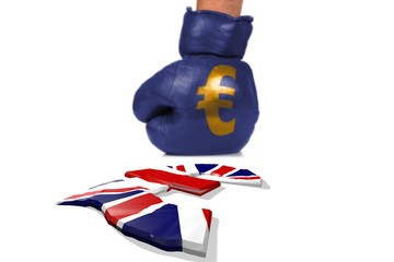 Brexit, Symbol of the Fight between the Currencies