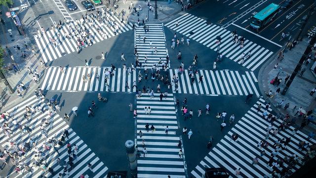 Sukiyabashi intersection